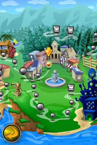 Screenshot Bubble Town