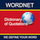 WordNet Dictionary of Quotations